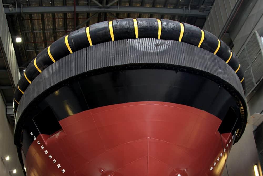 Fender straps - Halliday Engineering and Sydney City Marine