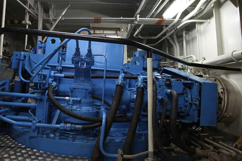 Upper Gearbox Halliday Engineering and Sydney City Marine