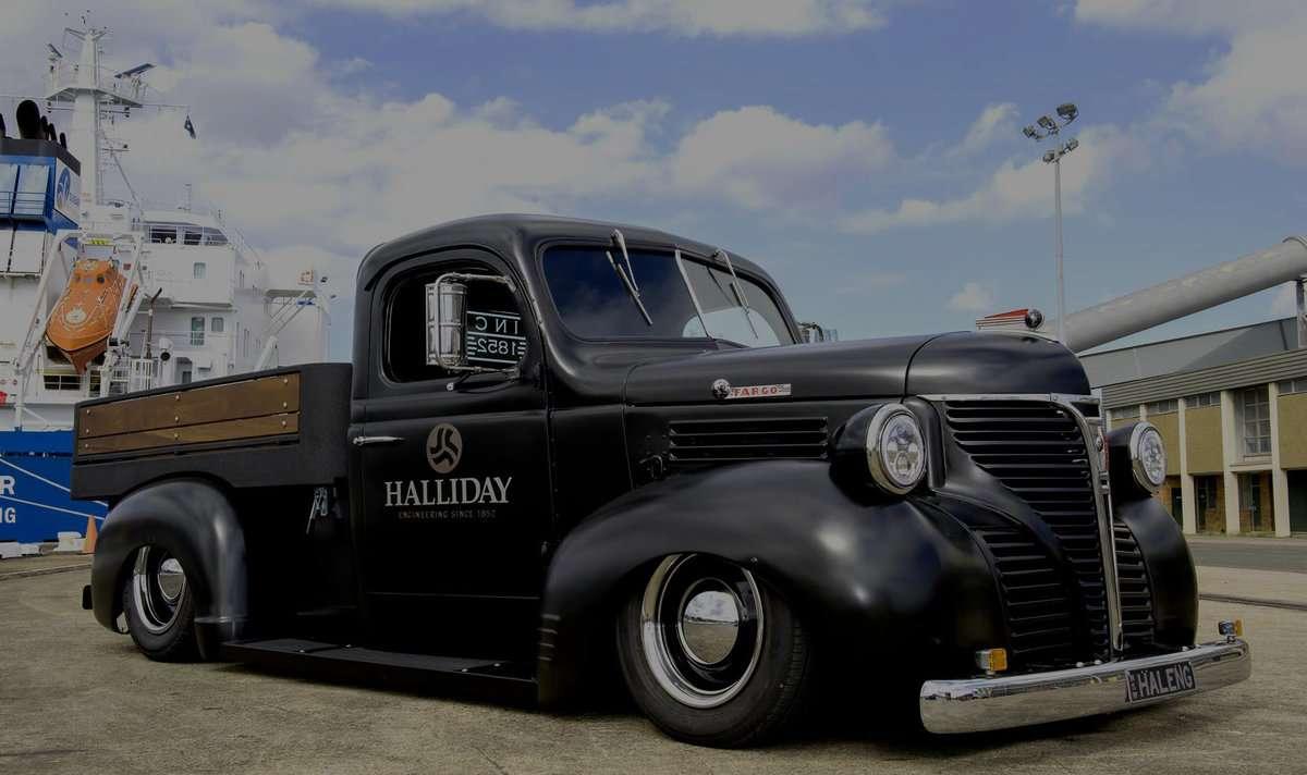 Custom Built Shop Truck – 1946 Dodge Fargo